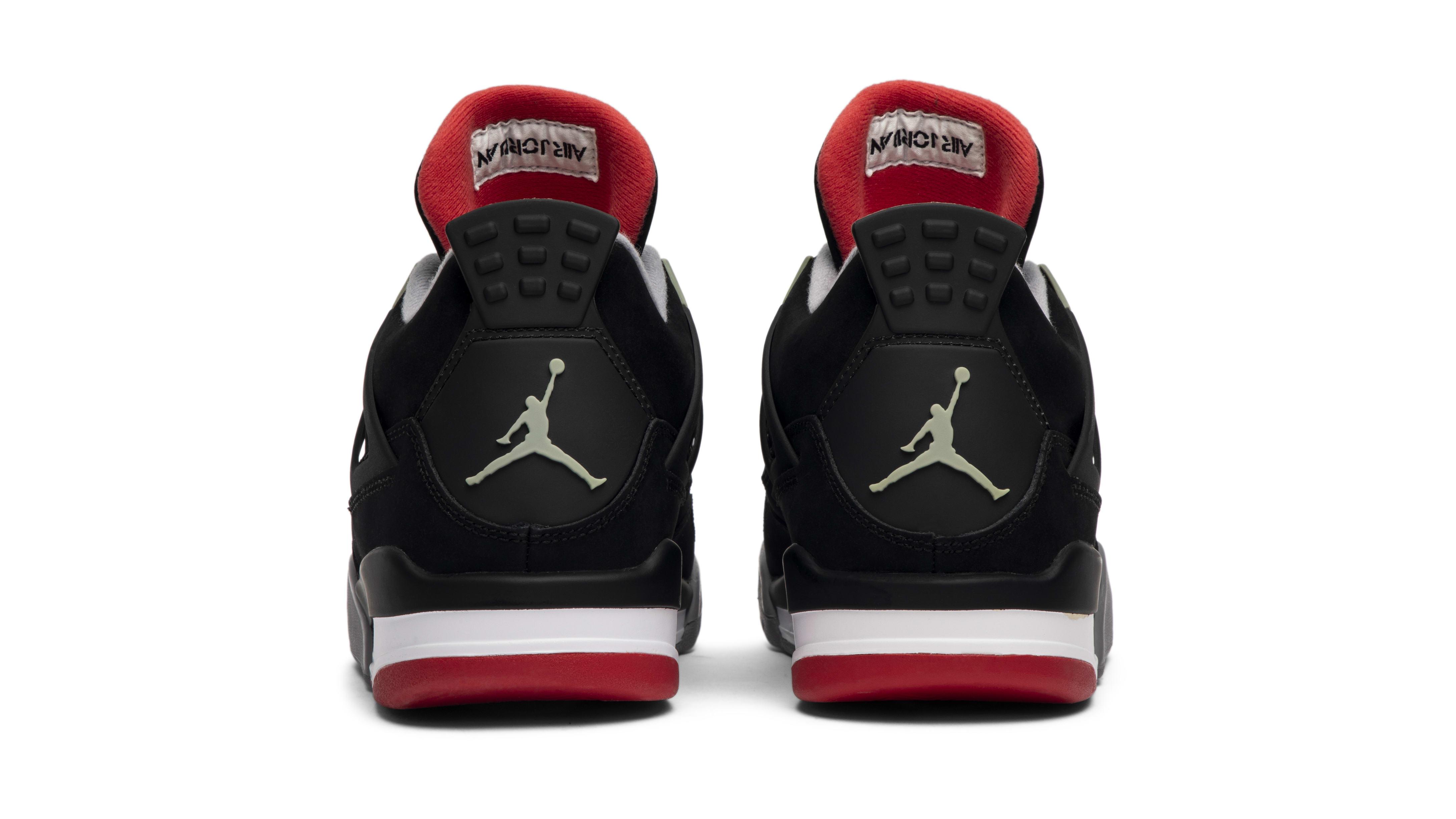 Air Jordan 4 'Bred' 2012 (Heel)