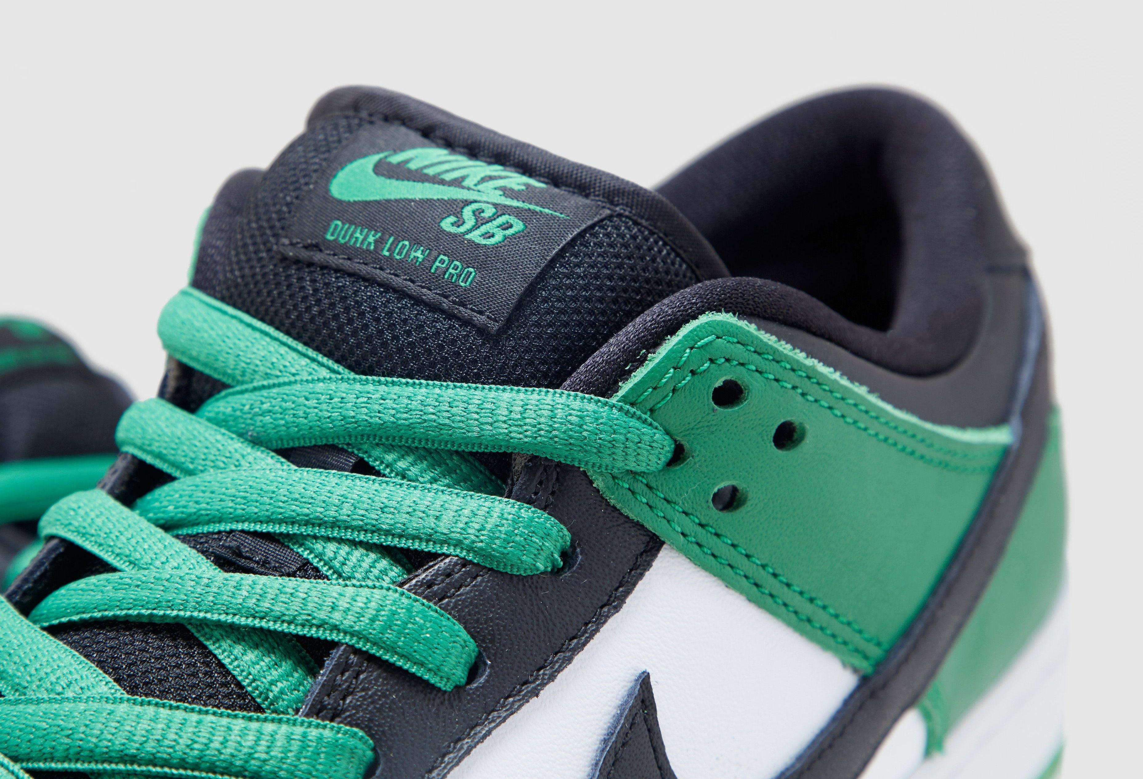 Nike SB Dunk Low 'Classic Green' BQ6817-302 Tongue