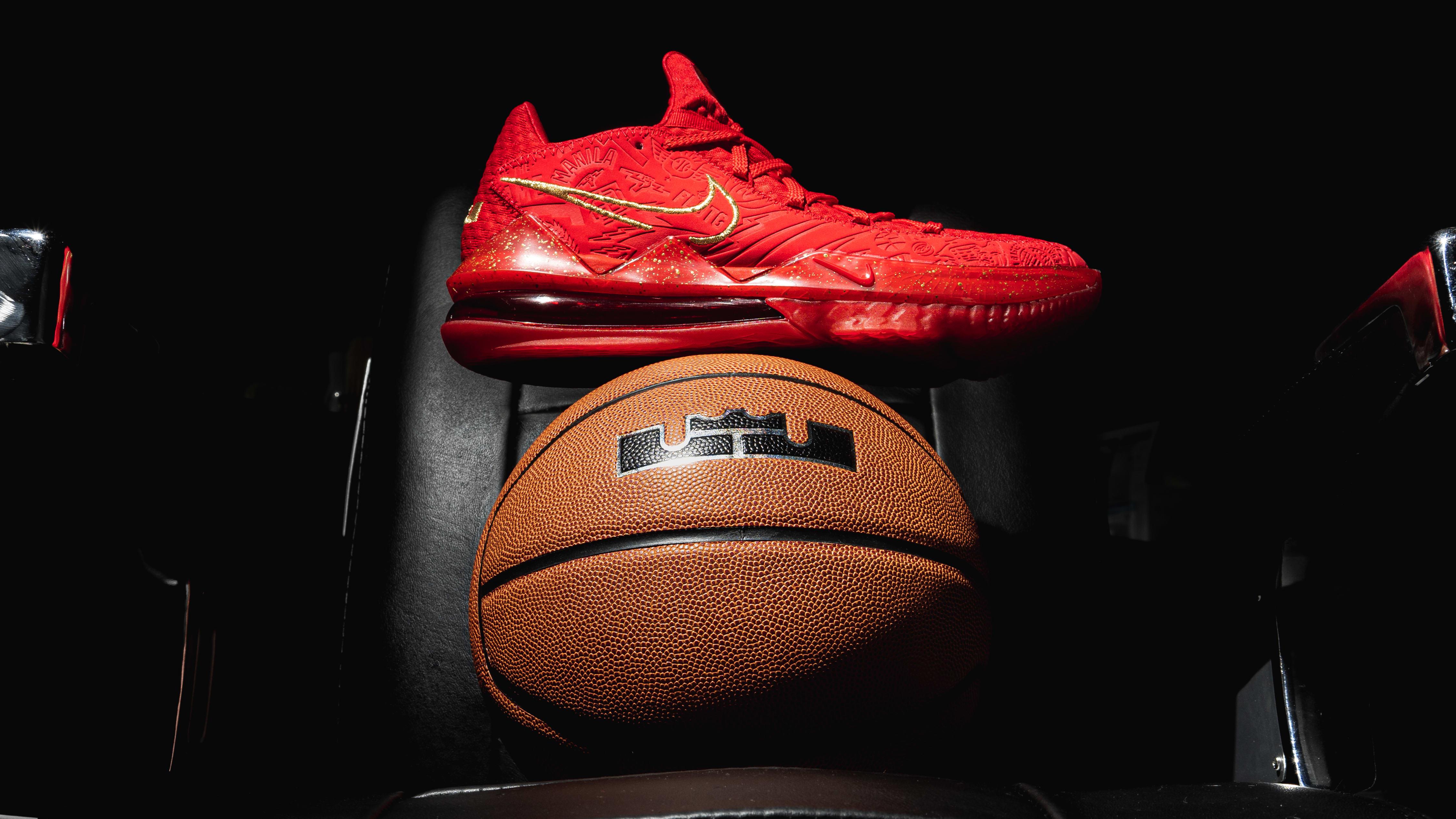 Titan x Nike LeBron 17 Low CD5008-600 (Lateral)