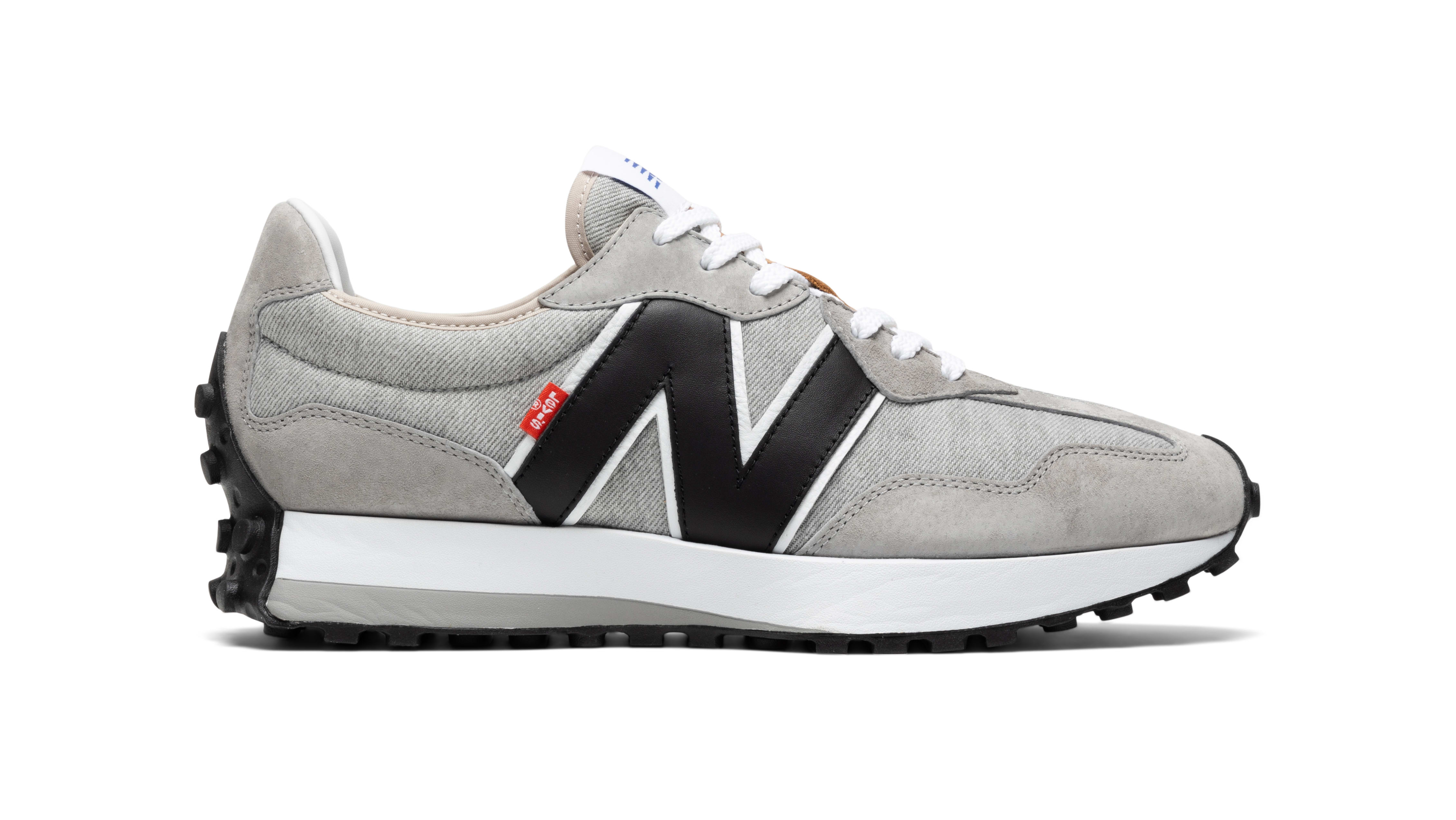 Levi's x New Balance 327 'Grey' Lateral