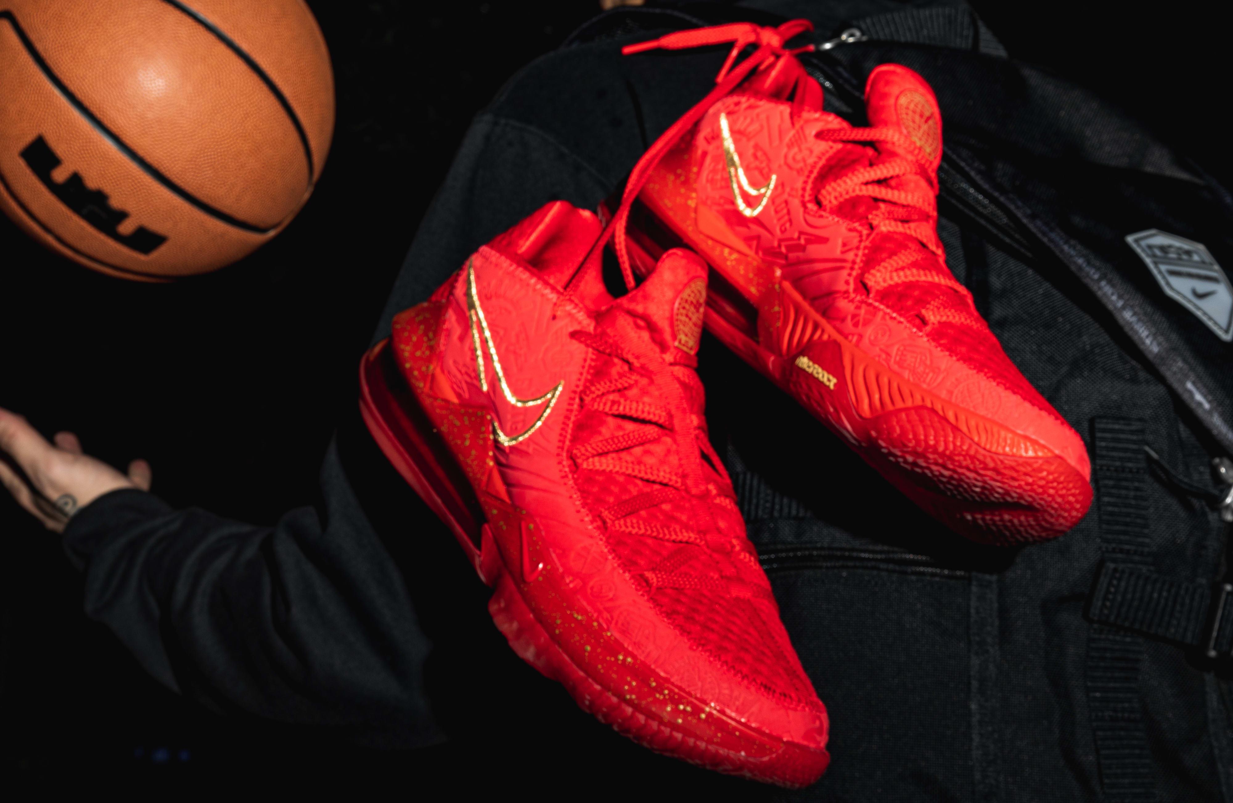 Titan x Nike LeBron 17 Low CD5008-600 (Pair)