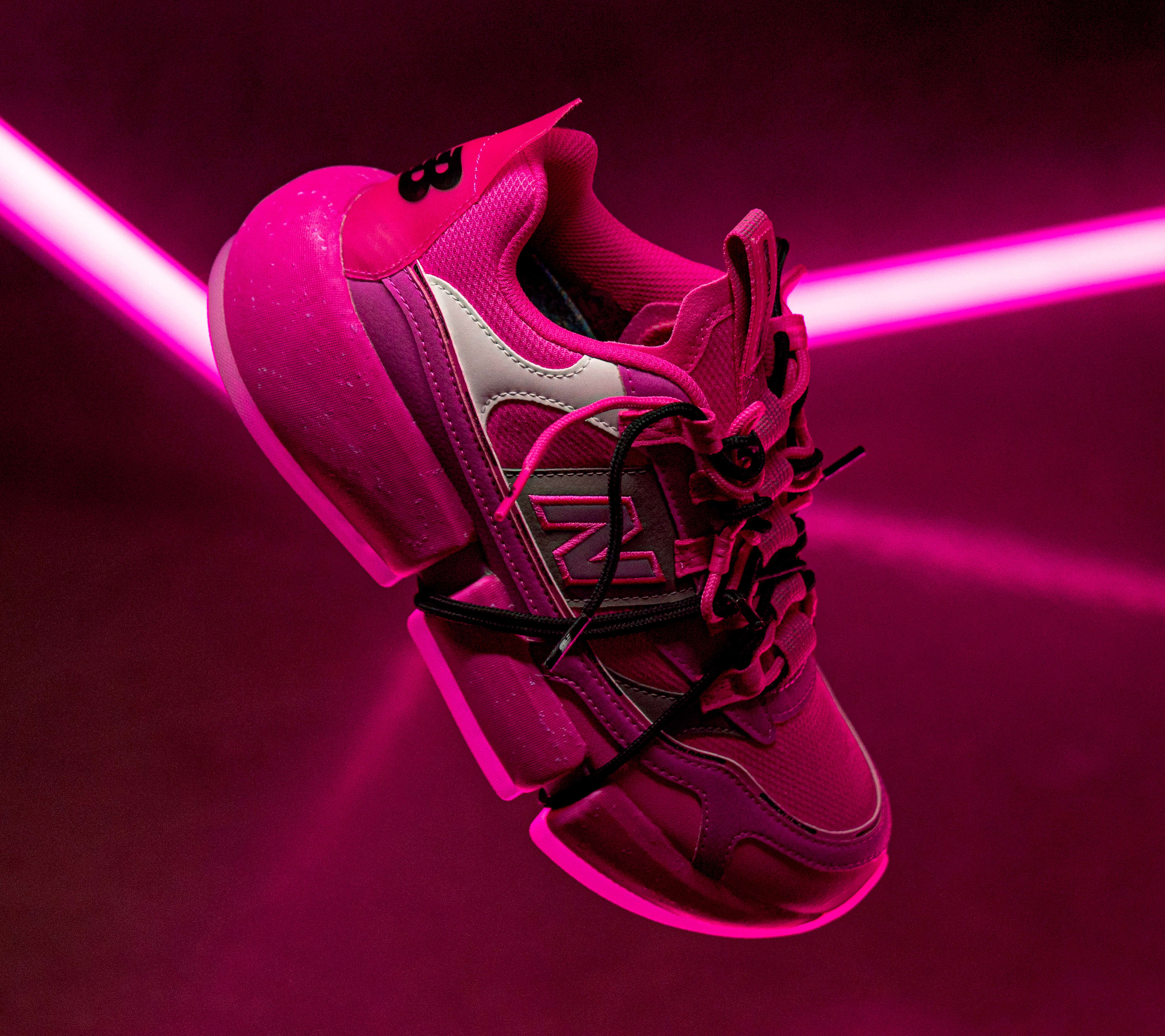 Jaden Smith x New Balance Vision Racer 'Pink' MSVRCJSC Lateral