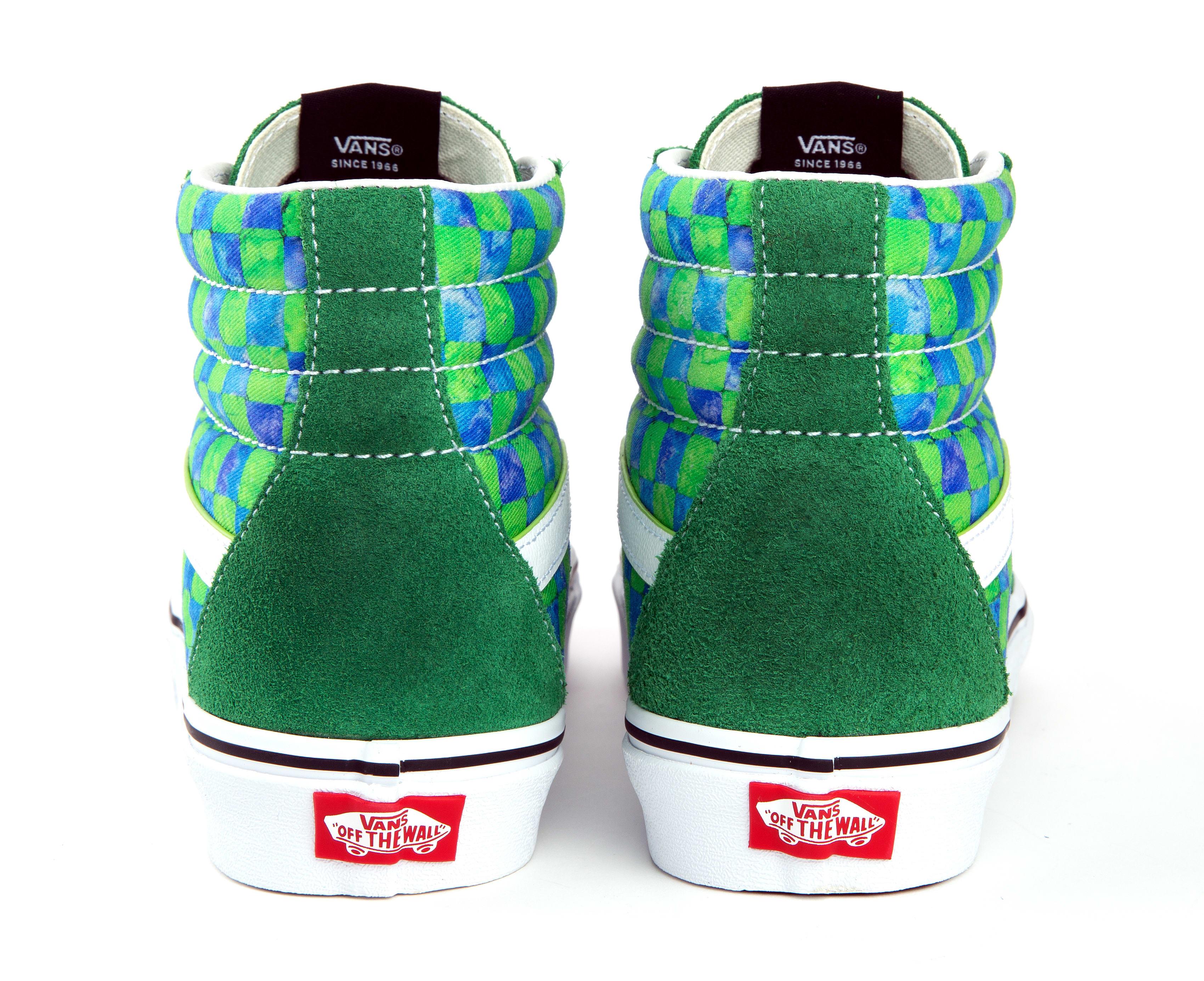 Awake NY x Vans Sk8-Hi Collab Green
