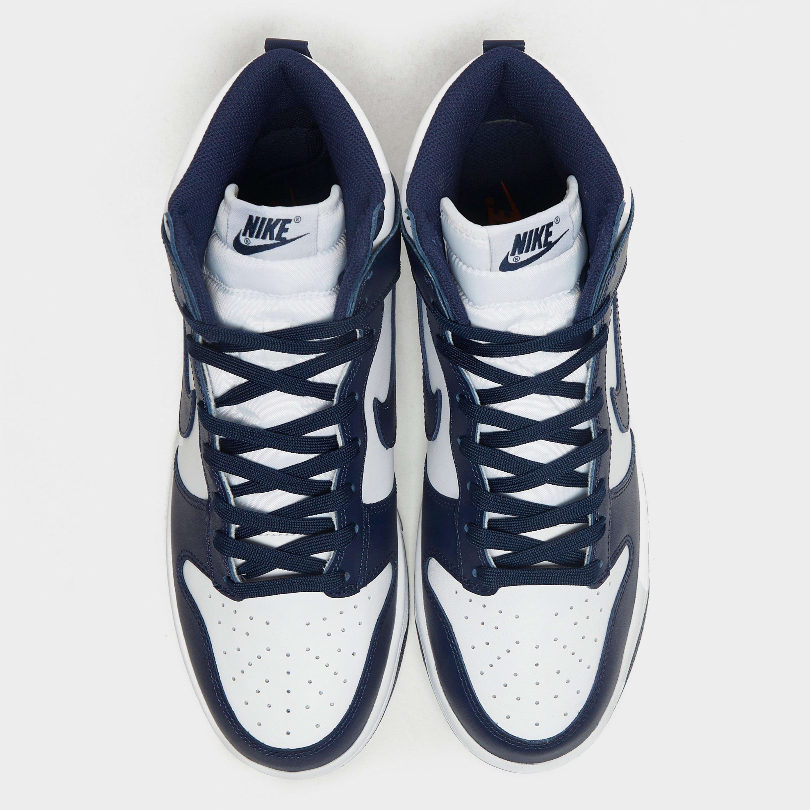 Nike Dunk High Midnight Navy 2021 Release Date Top