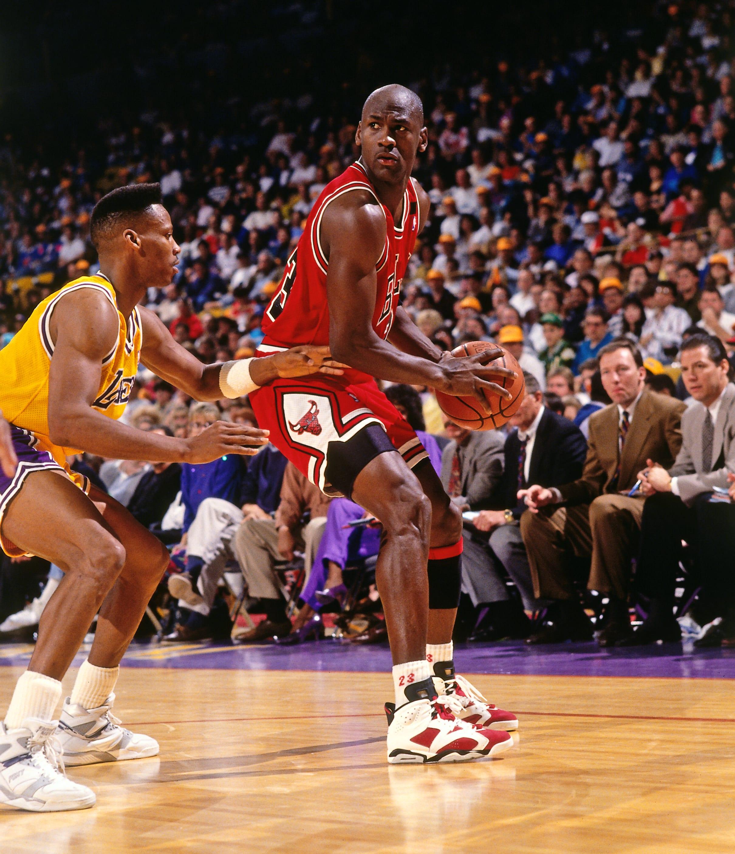 Michael Jordan Carmine Air Jordan 6