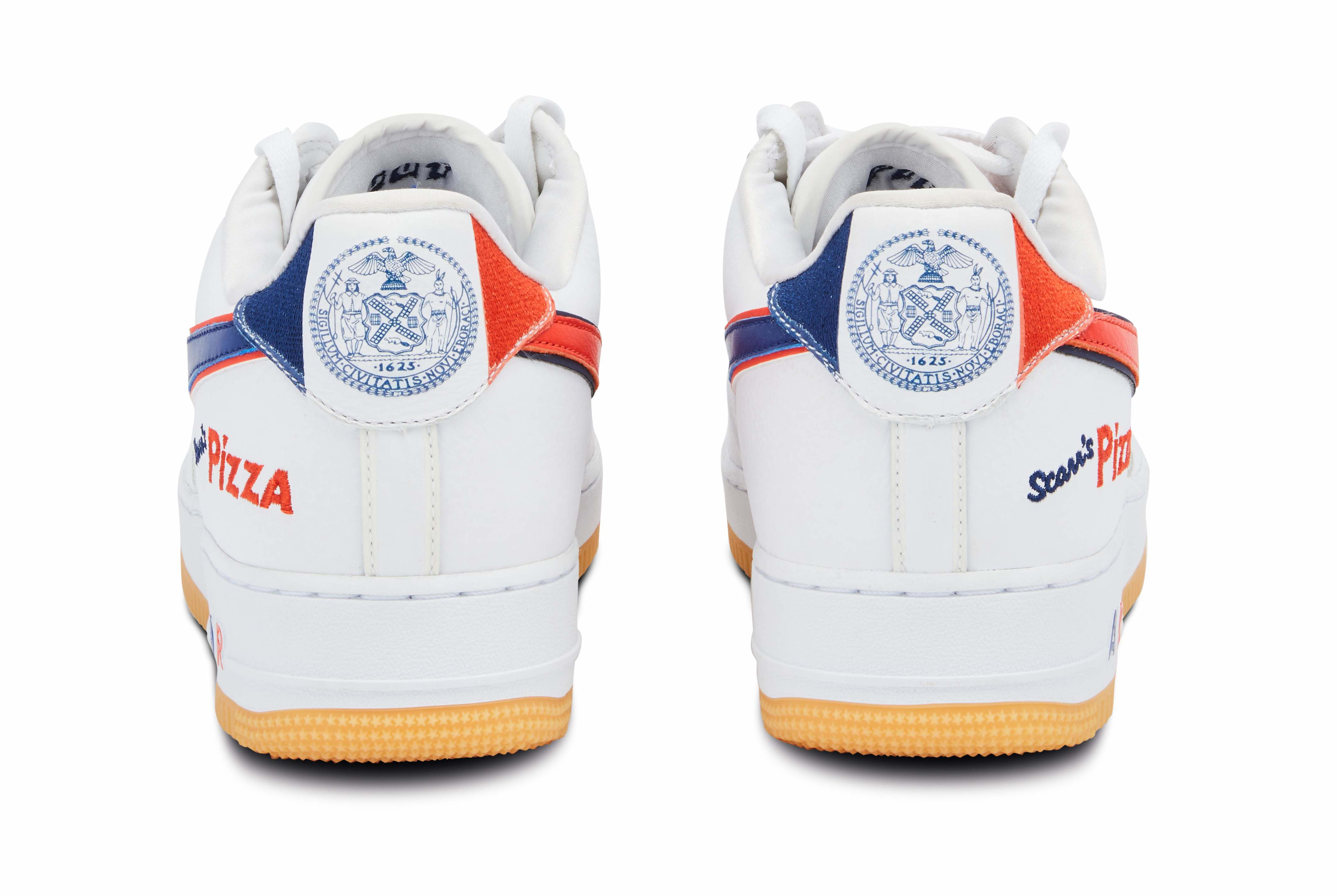 Scarr's Pizza x Nike Air Force 1 Low Heel