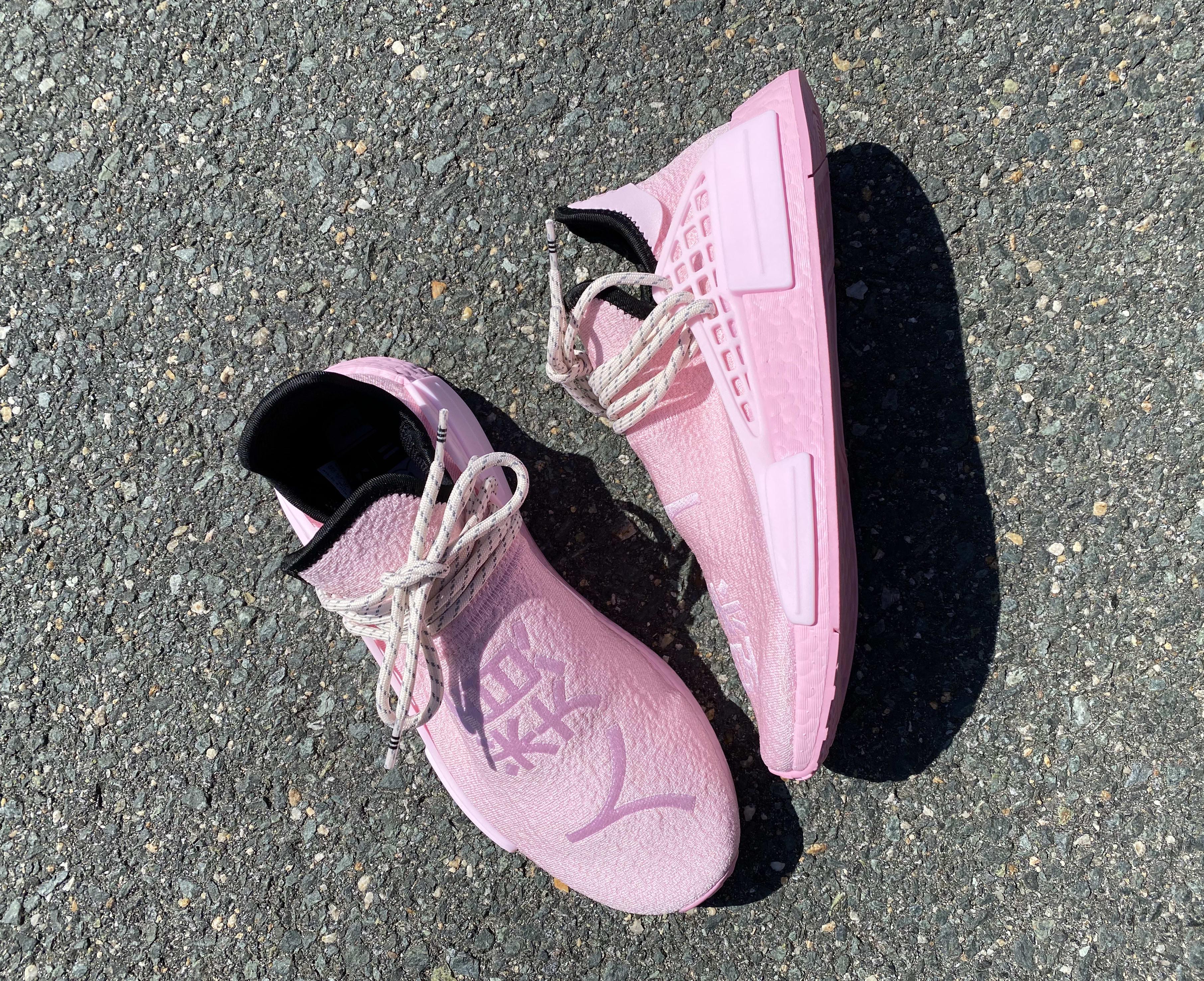 Pharrell x Adidas NMD Hu 'Pink' GY0088 Top