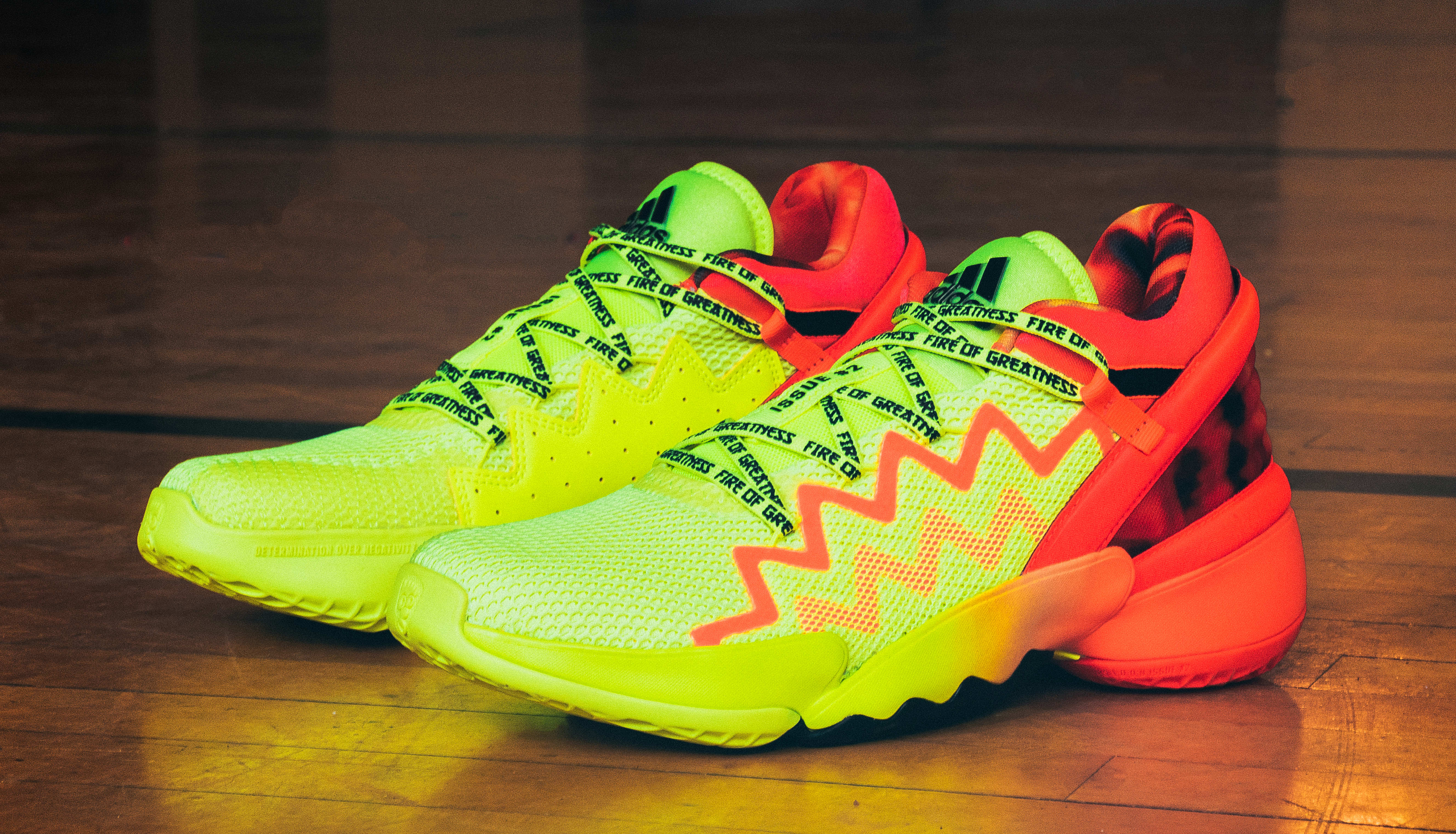 Adidas D.O.N. Issue #2 'Fire of Greatness'
