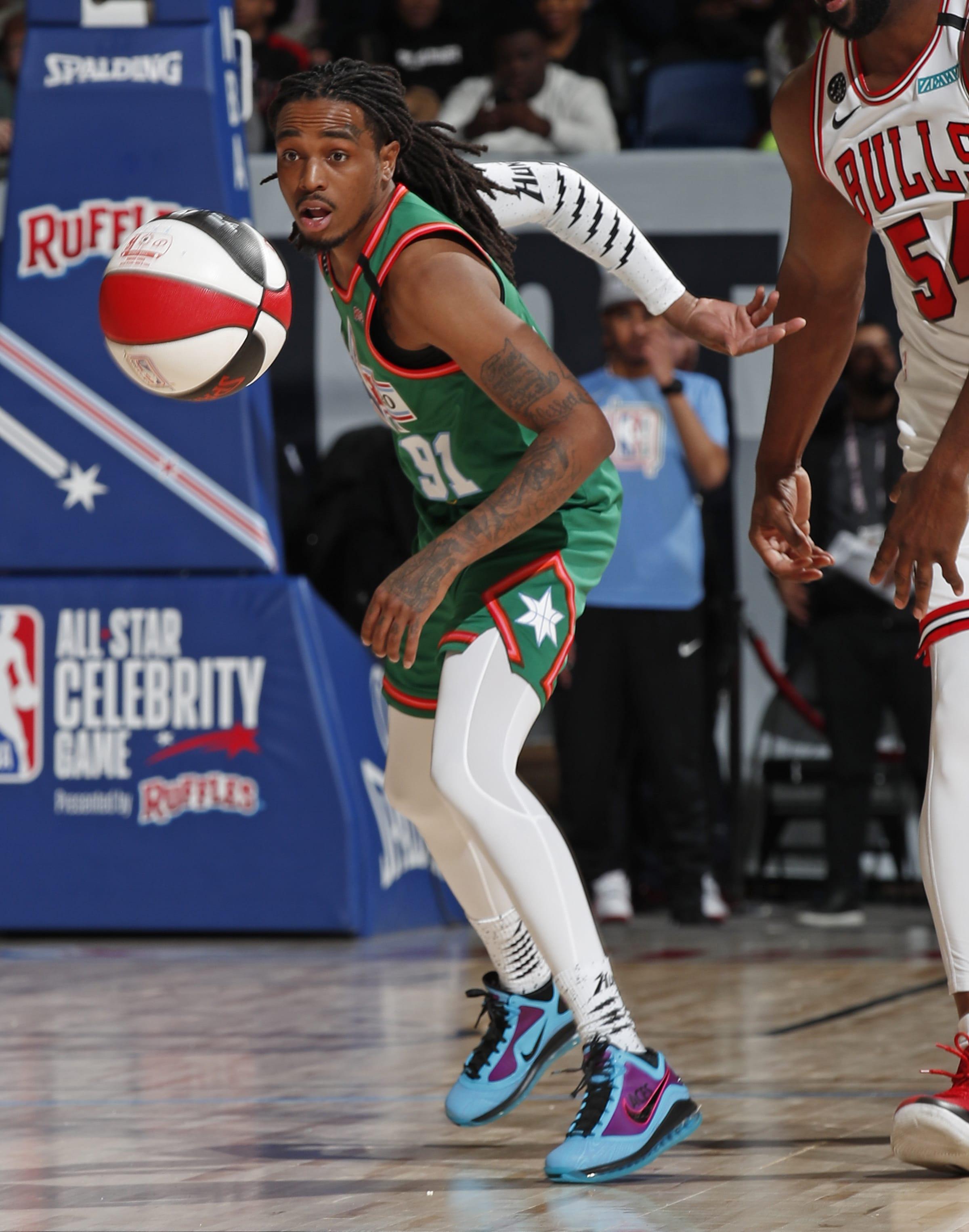 Quavo Nike LeBron 7 Custom