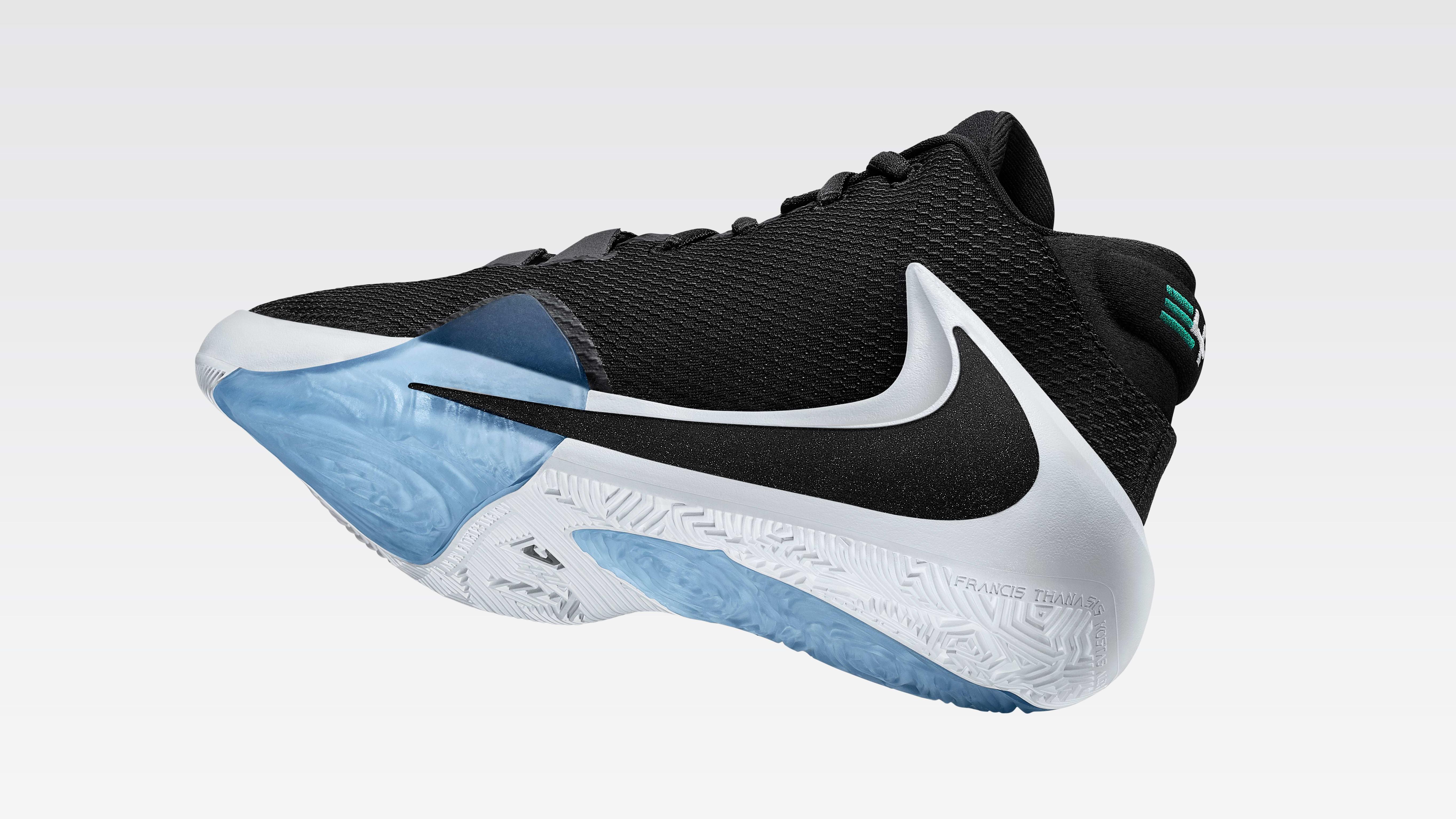 Nike Air Zoom Freak 1 (Black Tilted)
