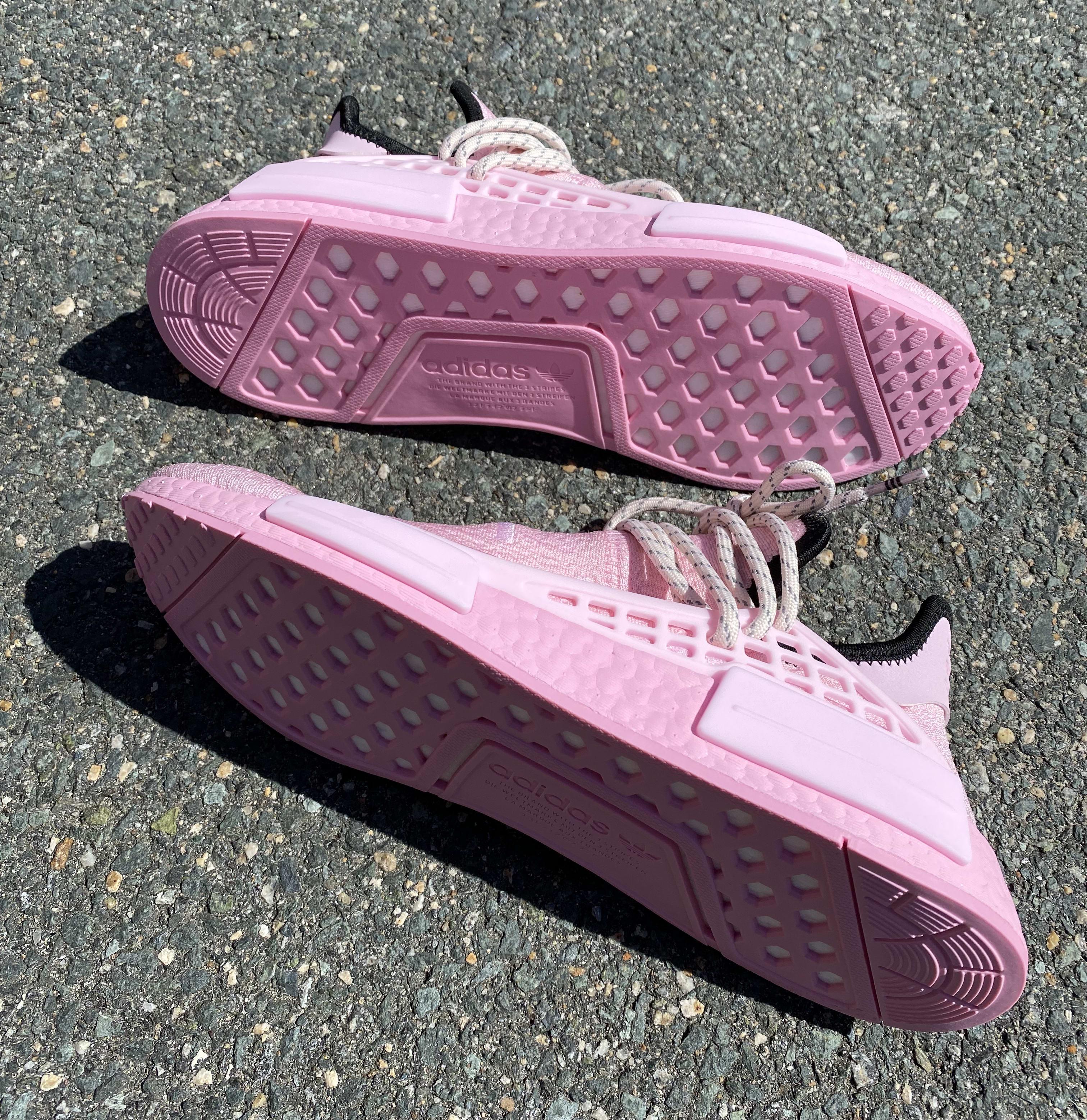 Pharrell x Adidas NMD Hu 'Pink' GY0088 Outsole