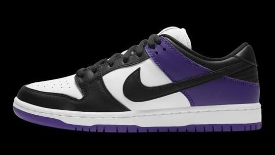 Nike SB Dunk Low Court Purple Release Date BQ6817-500 Profile