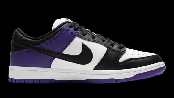Nike SB Dunk Low Court Purple Release Date BQ6817-500 Medial