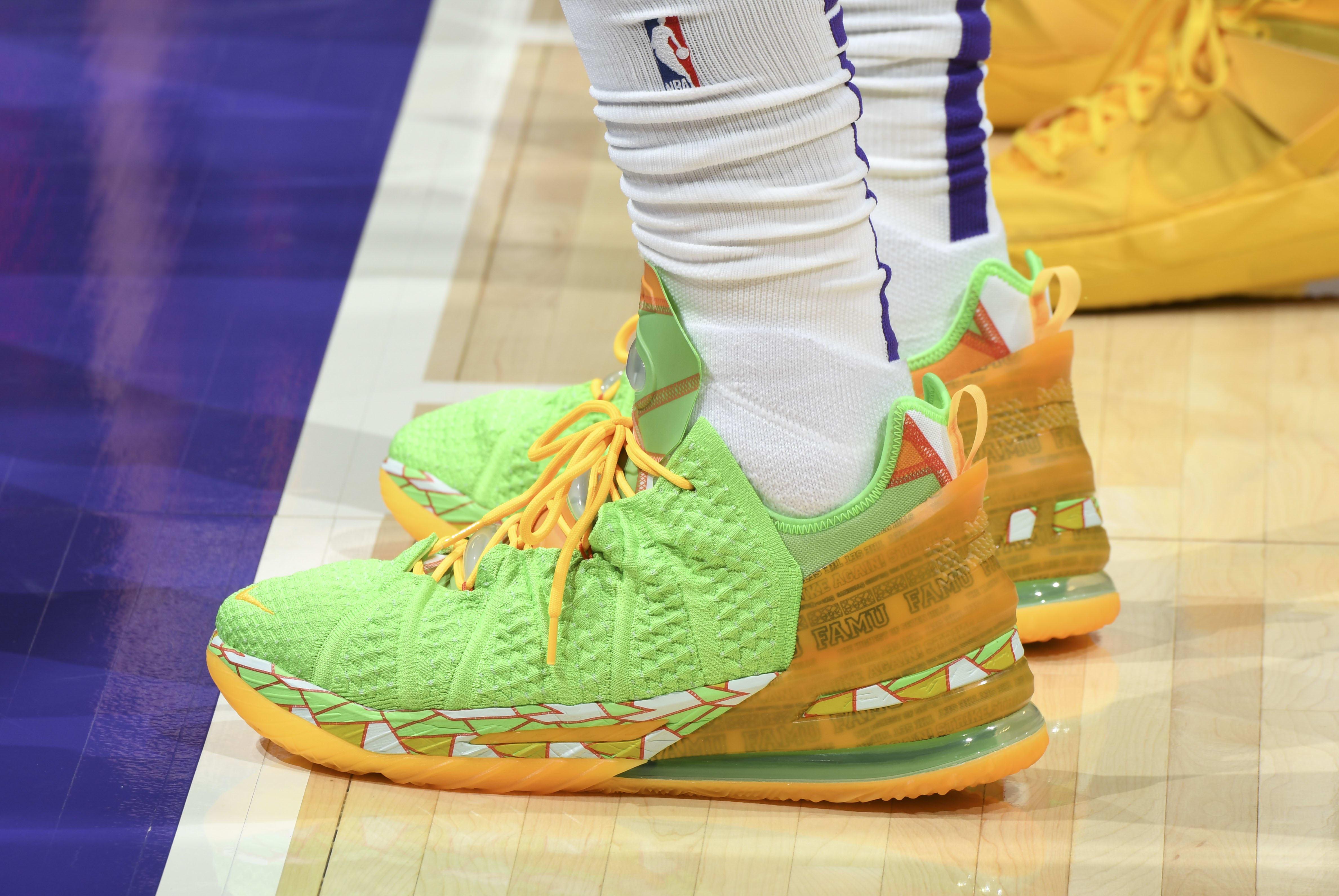 Lebron James Nike LeBron 18 PE 'FAMU'