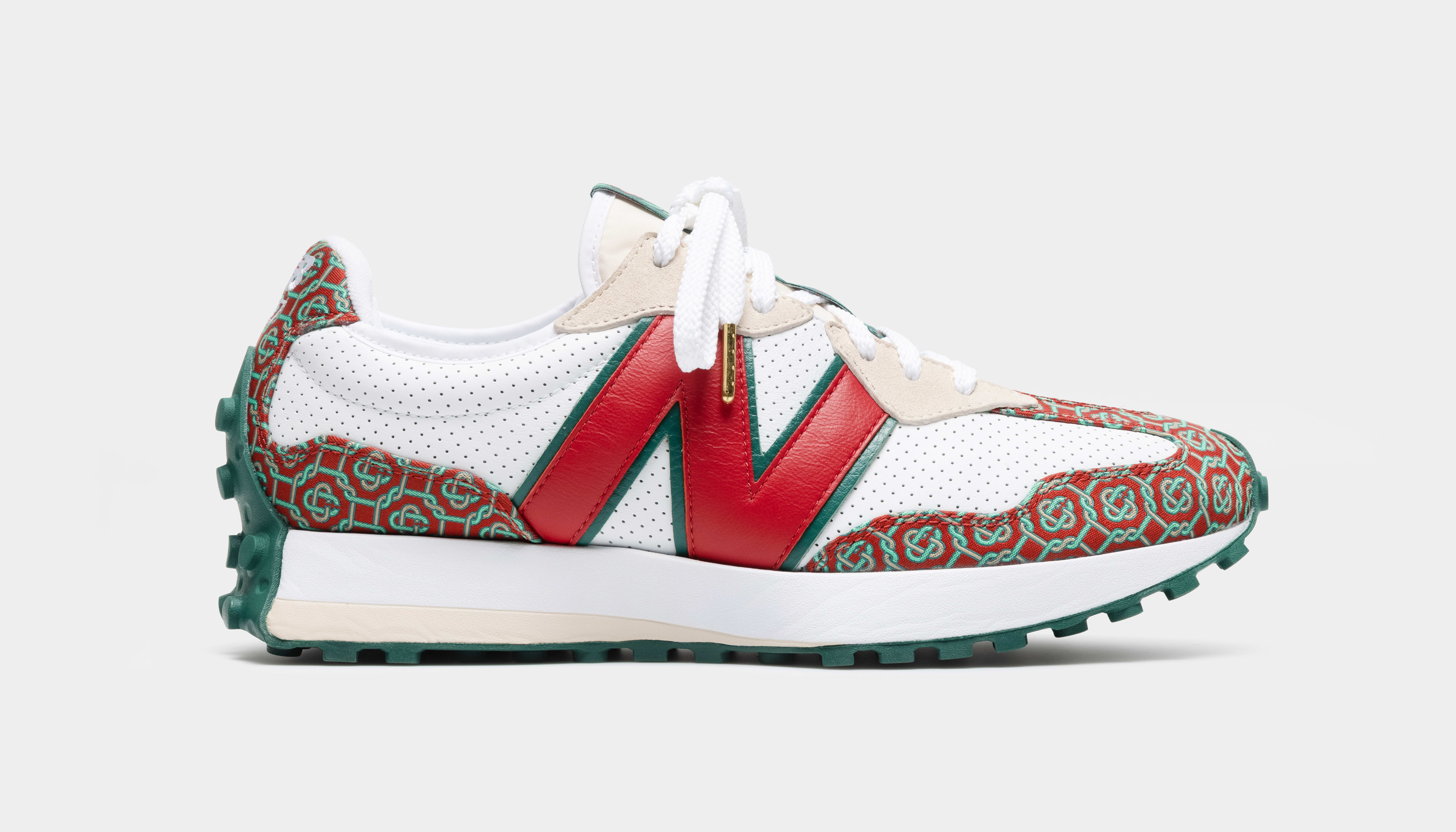 New Balance 327 'Red Monogram' Lateral
