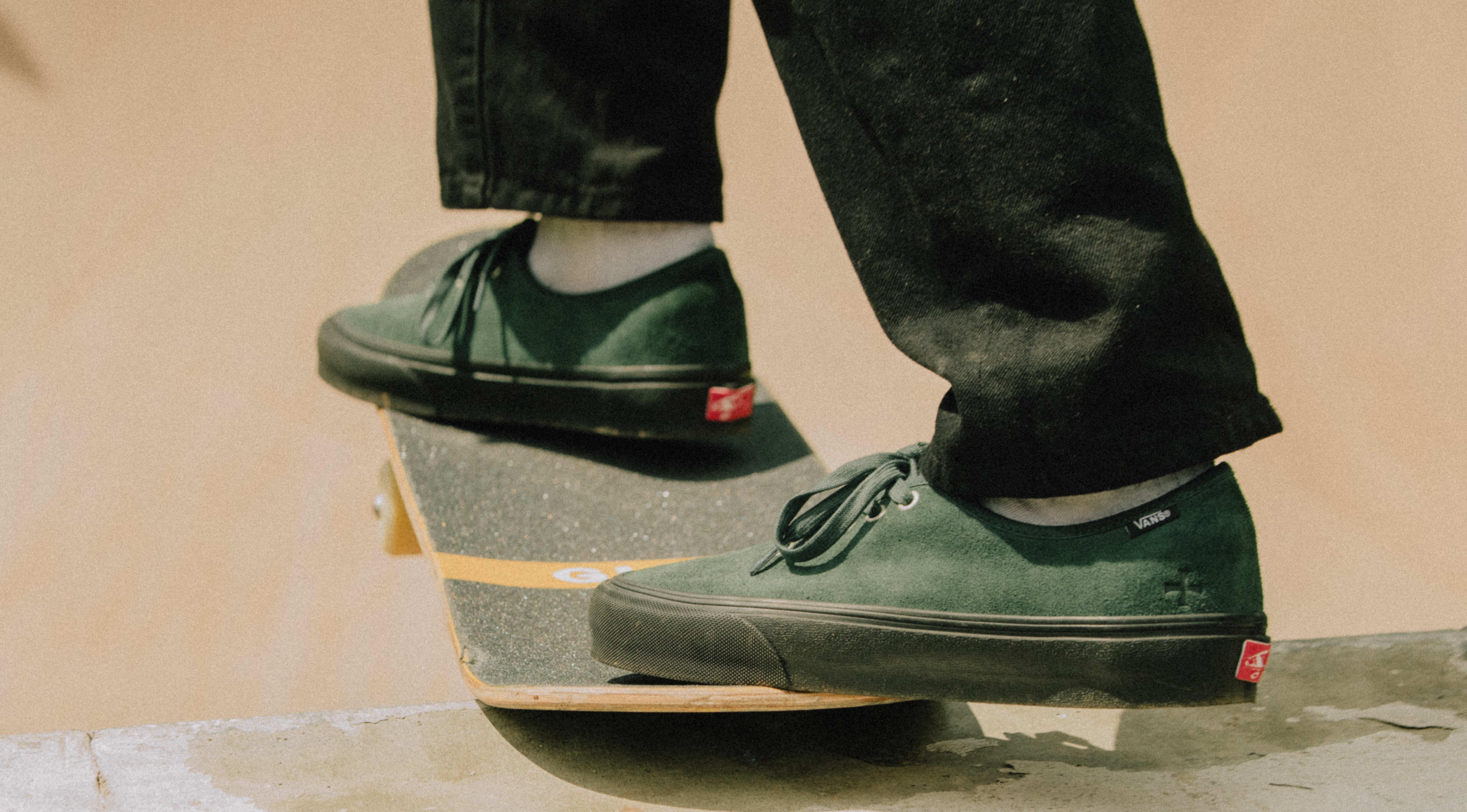 Noah x Vans Authentic Green