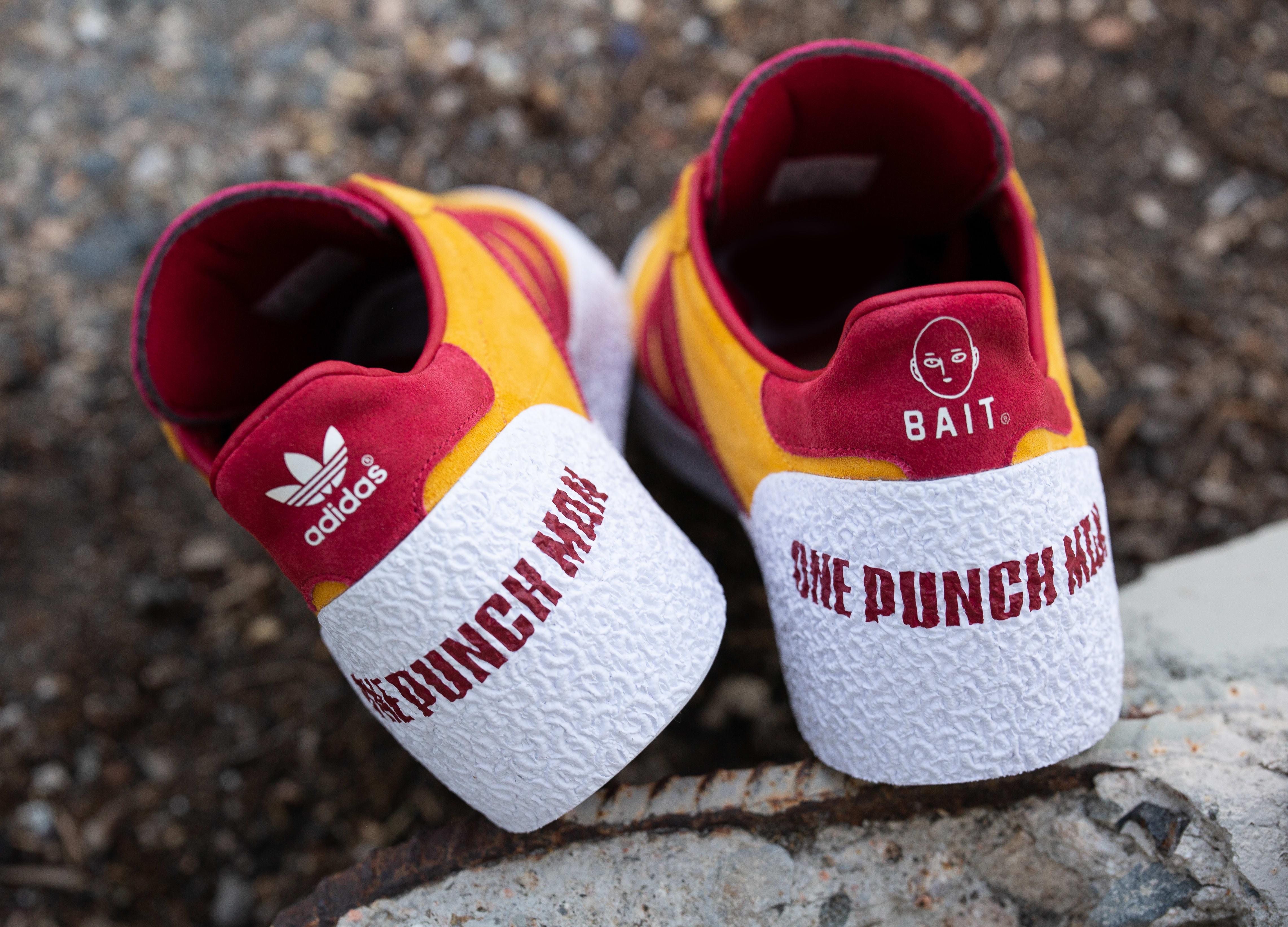 Bait x One Punch Man x Adidas Montreal Heel