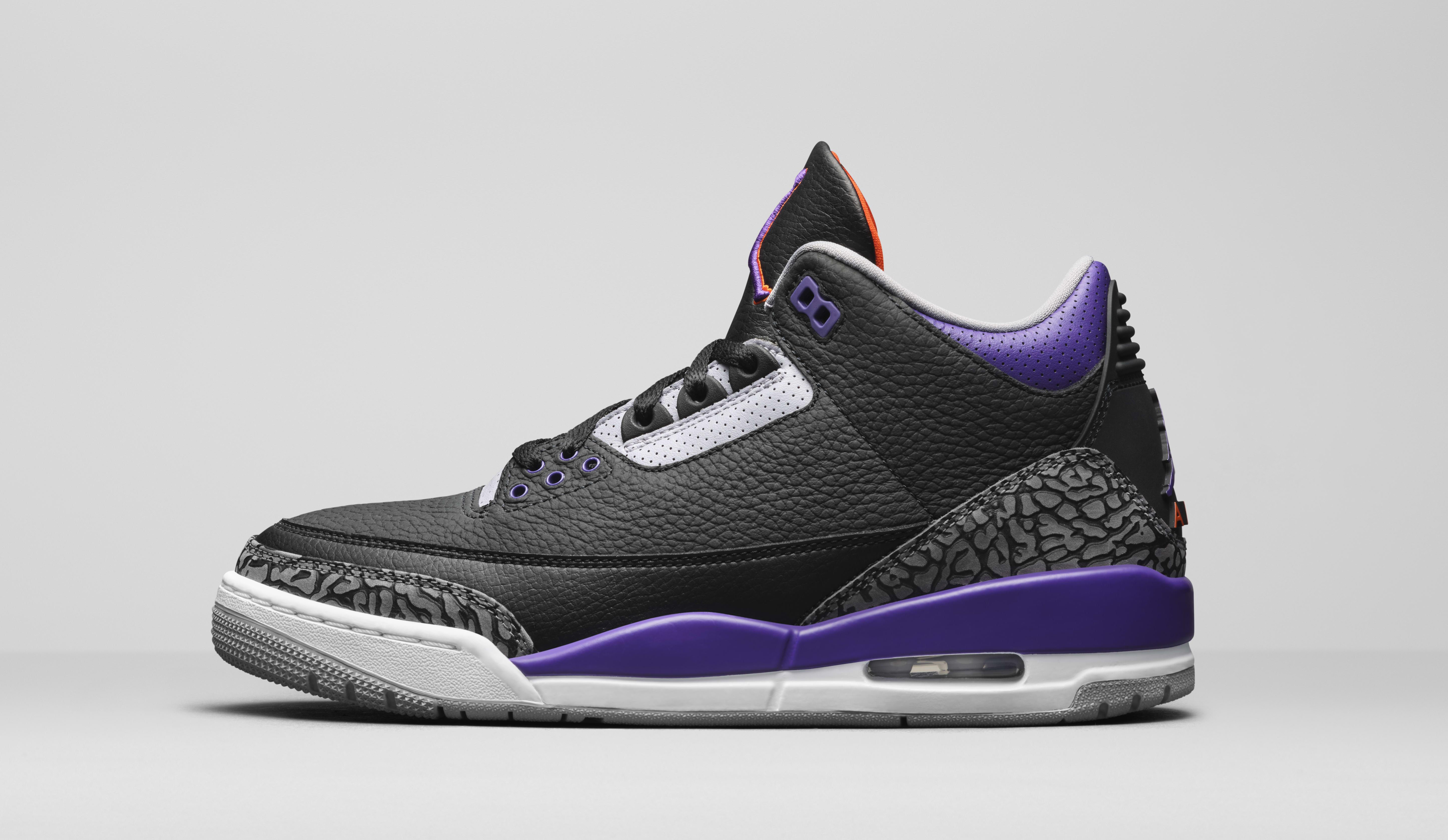 Air Jordan 3 Retro 'Court Purple' CT8532-050 Lateral