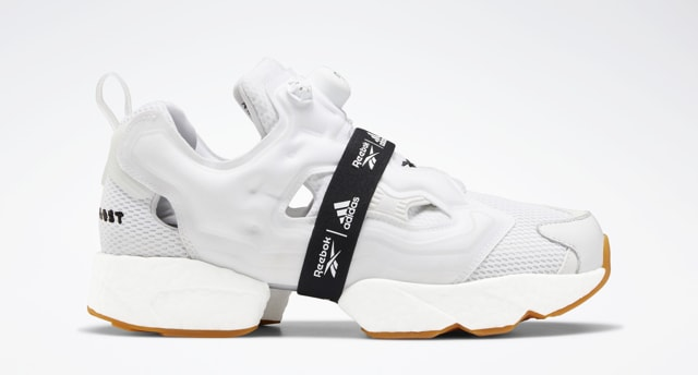 Reebok Instapump Fury Boost 'Black and White' White