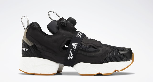 Reebok Instapump Fury Boost 'Black and White' Black
