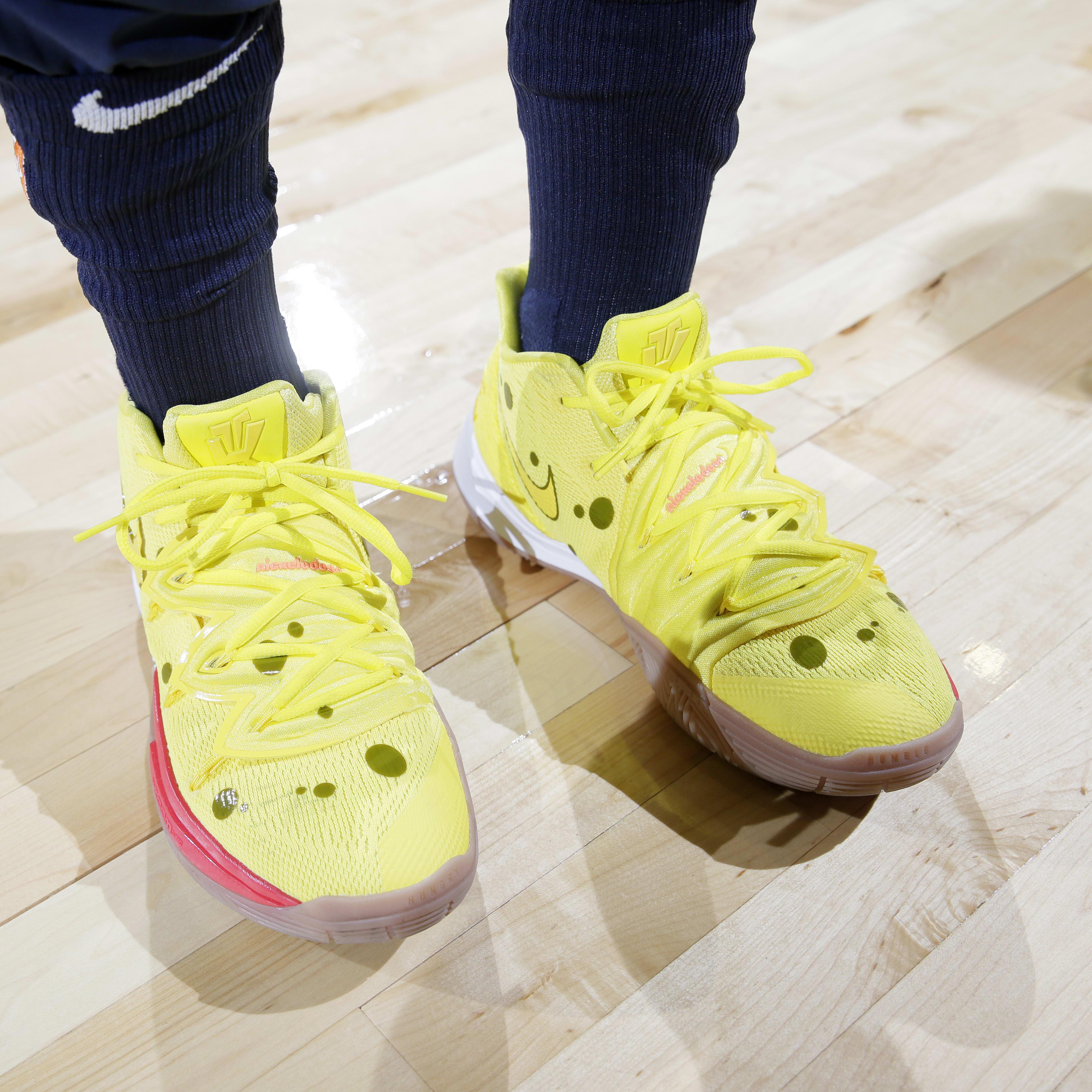 Nike Kyrie 5 SpongeBob Release Date Front
