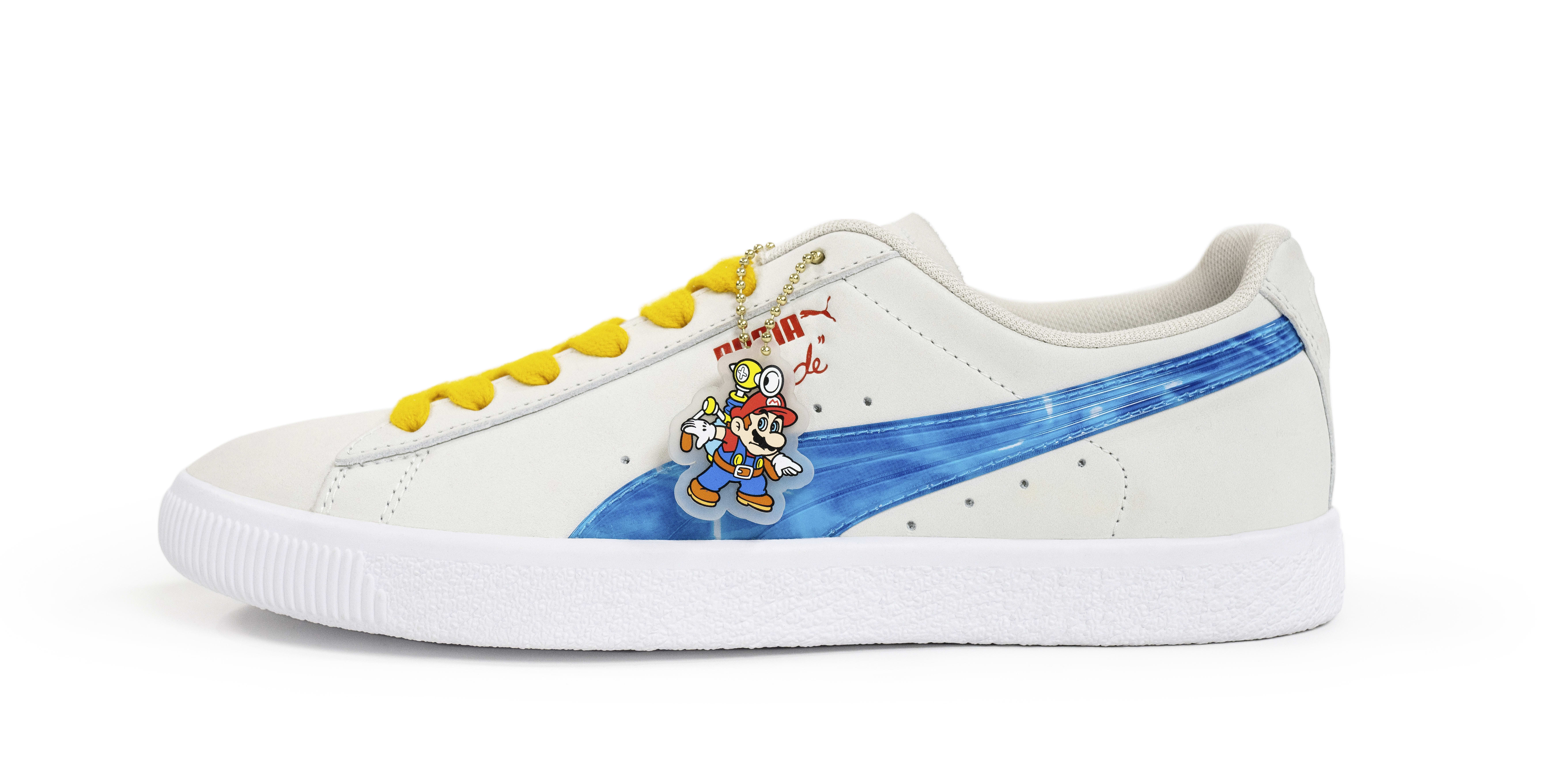 Nintendo x Puma Clyde 'Super Mario Sunshine' Lateral