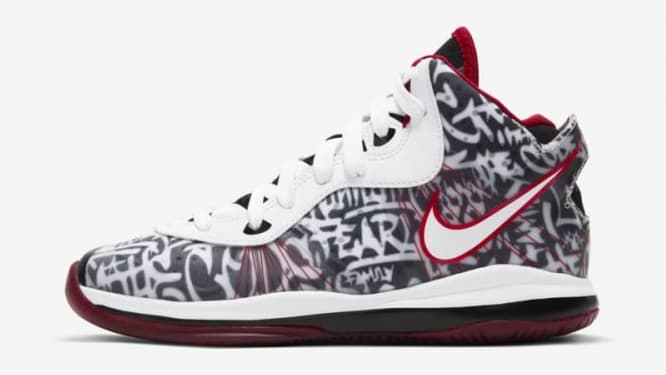 Nike LeBron 8 V/2 Graffiti 2021 Release Date Profile Toddler