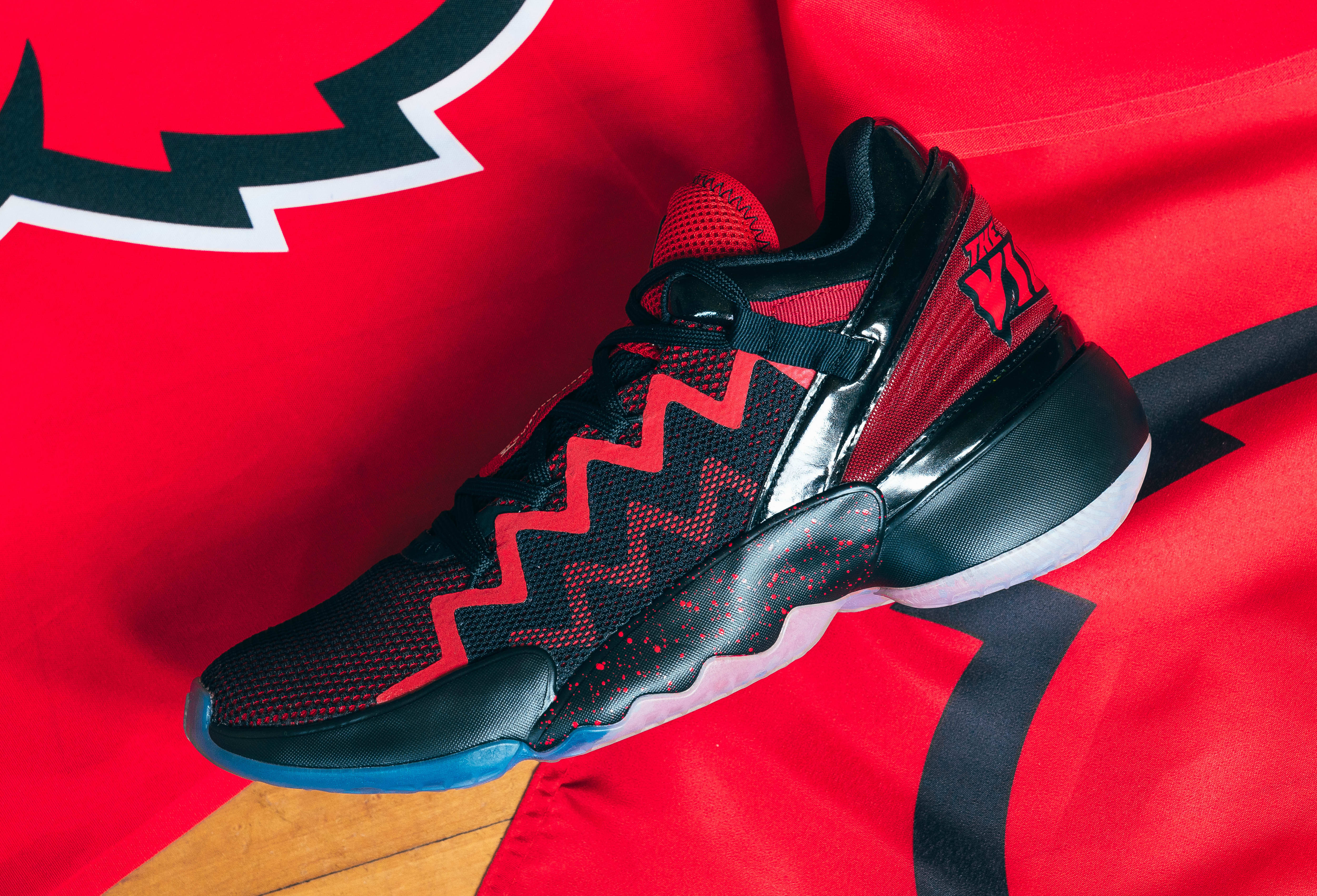 Louisville x Adidas D.O.N. Issue #2 'A Shoe For Change' Side