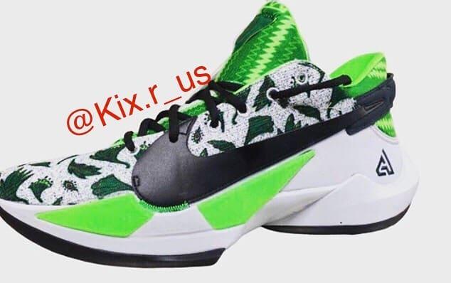 Nike Zoom Freak 2 White Green