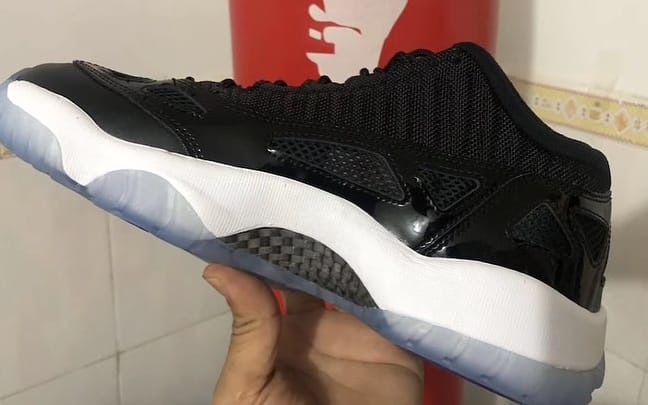 Air Jordan 11 Low IE 'Space Jam' (Medial)