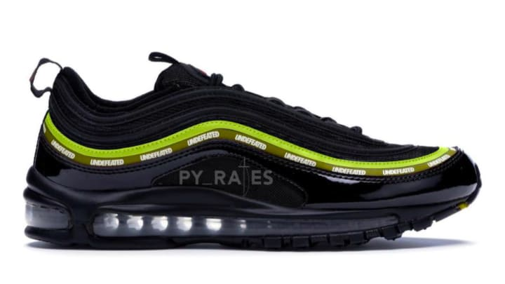 Undefeated x Nike Air Max 97 new black