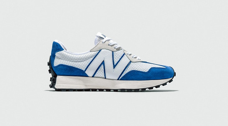 New Balance 327 Blue 'Primary' Pack