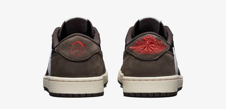 Travis Scott x Air Jordan 1 Low CQ4277-001 (Heel)