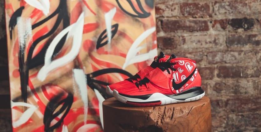 Sneaker Room x Nike Kyrie 6 'Mom' (Red Wide)