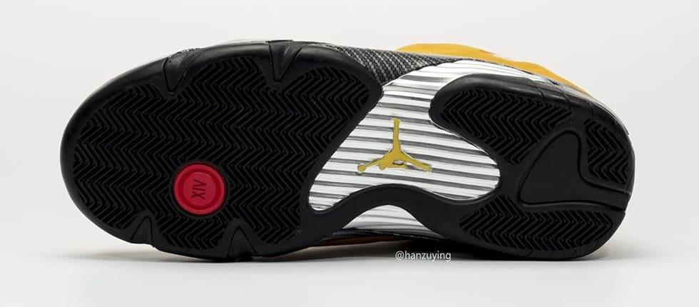Air Jordan 14 Retro 'Yellow Ferrari' BQ3685-706 Sole