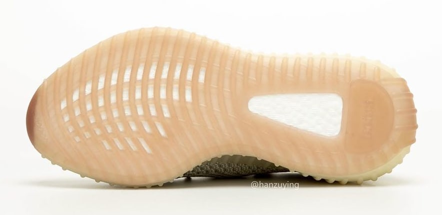Adidas Yeezy Boost 350 V2 Citrin Release Date FW3043 Sole