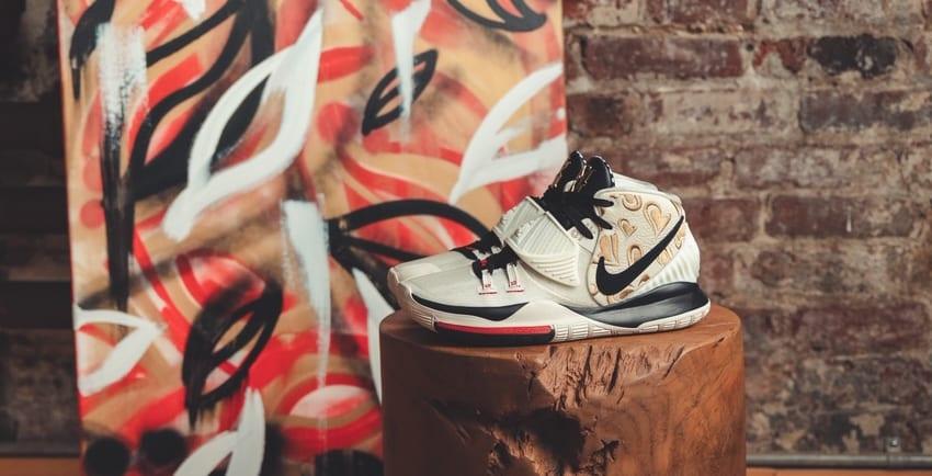 Sneaker Room x Nike Kyrie 6 'Mom' (Cream Wide)