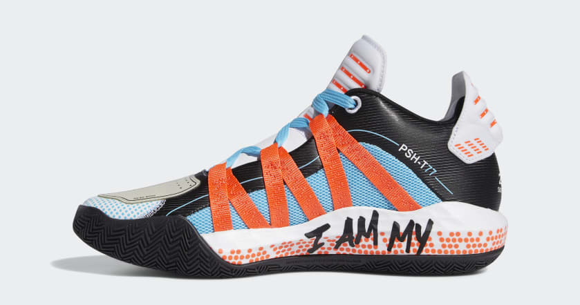 Dame 6 x Pusha T Shoes White FW5749-01 Standard
