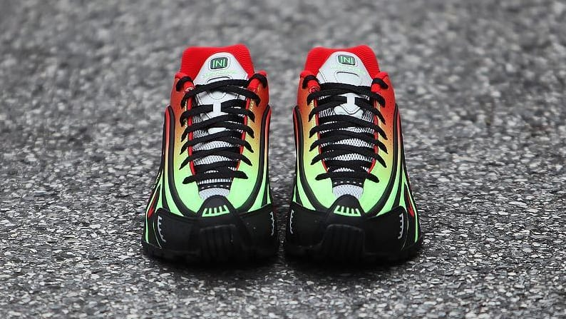 separation shoes 2811e 227cd Image via gc911 · Nike Shox R4  Neymar  (Toe)