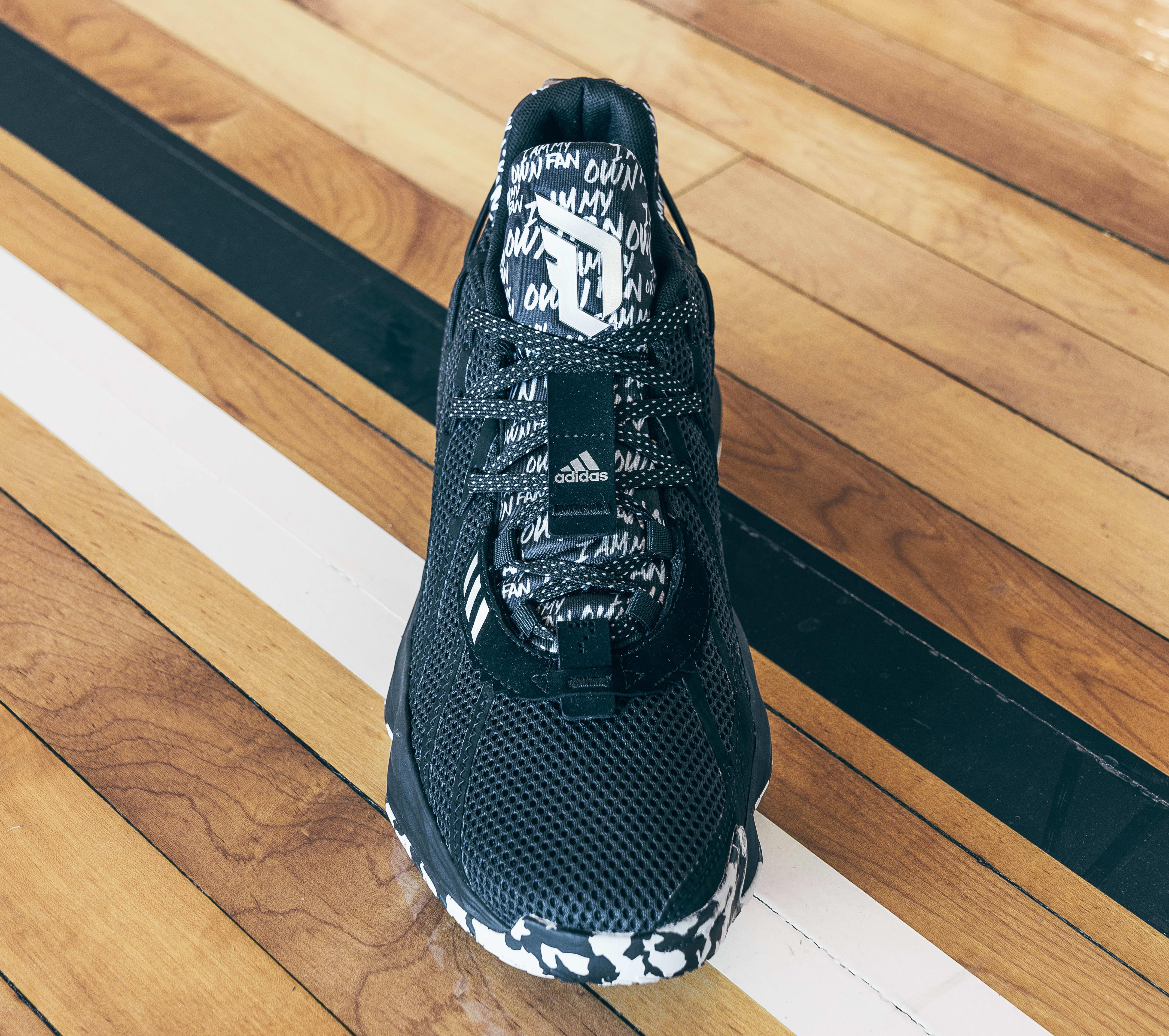 Adidas Dame 7 Black (Front)
