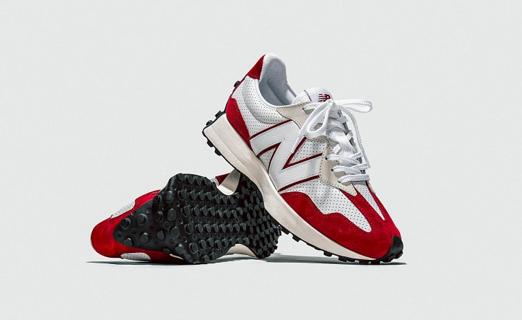 New Balance 327 Red 'Primary' Pack