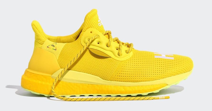 Pharrell x Adidas Solar Hu Glide Dropping In Colorful Pack: Official s
