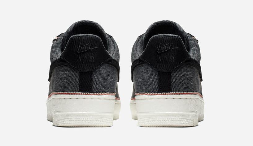 3x1 x Nike Air Force 1 Low 'Black' (Heel)