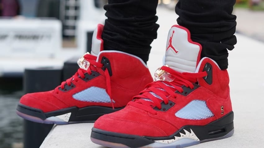 Trophy Room x Air Jordan 5 'University Red' 5
