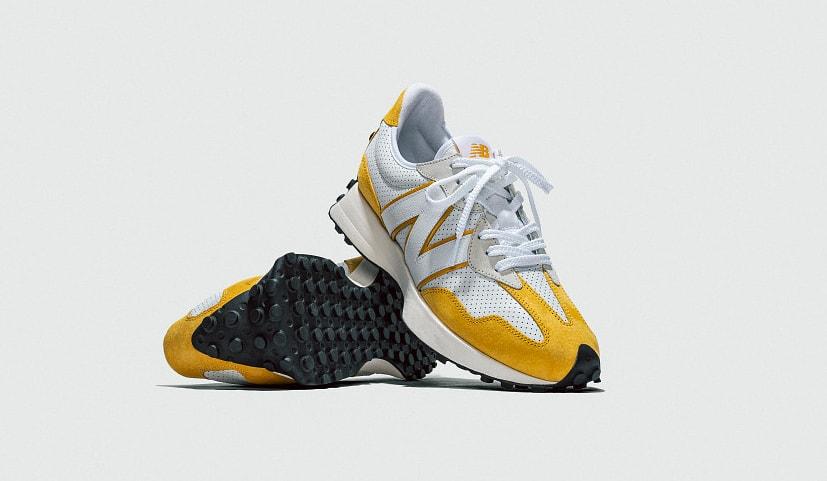New Balance 327 Yellow 'Primary' Pack