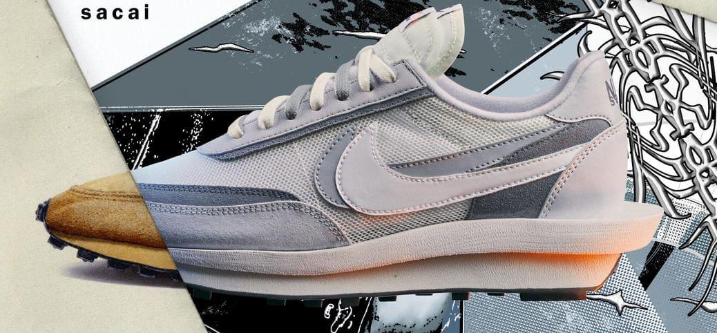 Sacai x Nike LDWaffle 'Grey'