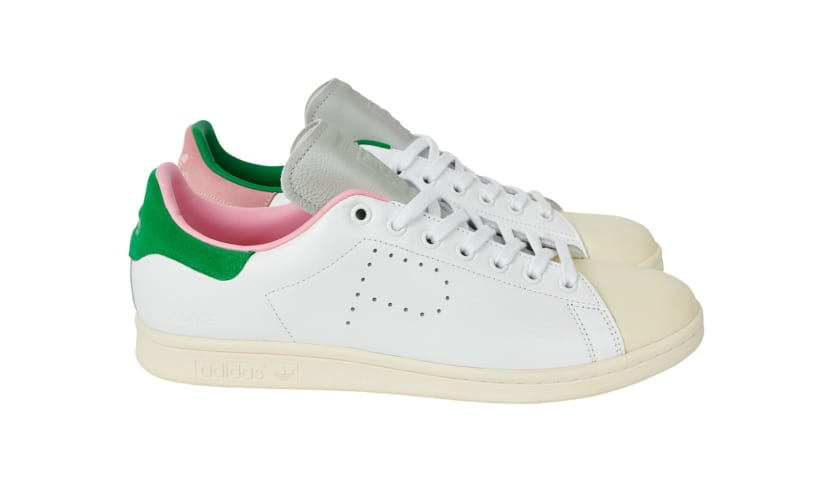 Palace x Adidas Stan Smith White/Cream Lateral