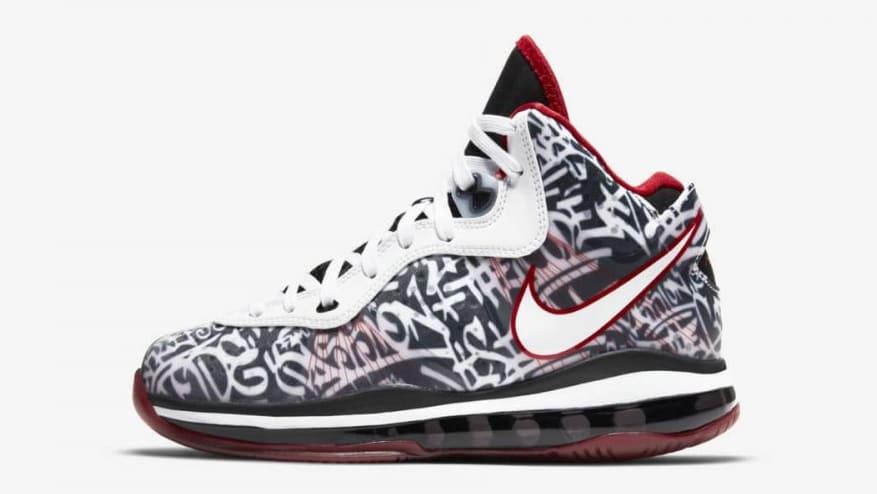 Nike LeBron 8 V/2 Graffiti 2021 Release Date Profile GS