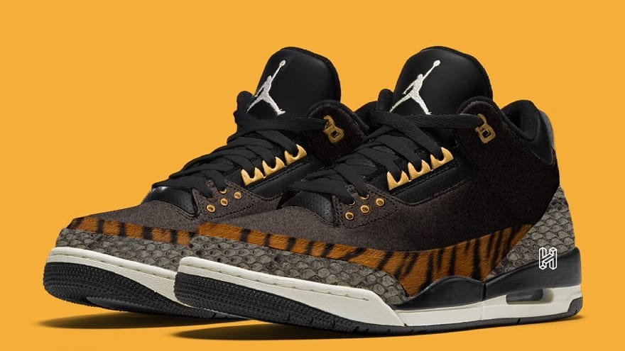Air Jordan 3 'Animal Pack' Mock up