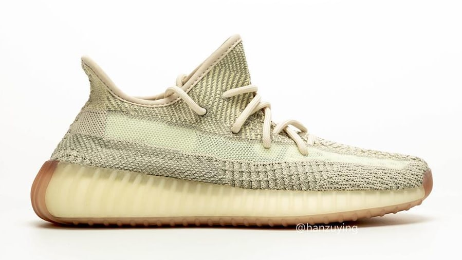 Adidas Yeezy Boost 350 V2 Citrin Release Date FW3043 Profile